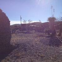 Photo taken at Steins Ghost Town by Mark S. on 2/17/2013