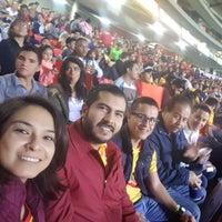 Photo taken at Estadio Morelos VIP by Alberto Z. on 1/8/2017