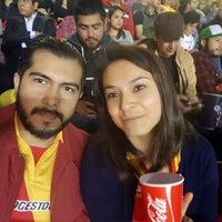 Photo taken at Estadio Morelos VIP by Alberto Z. on 10/30/2016