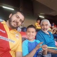 Photo taken at Estadio Morelos VIP by Alberto Z. on 5/11/2017