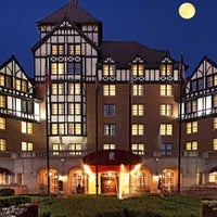 Photo taken at Hotel Roanoke & Conference Center - Curio Collection by Hilton by Rose  S. on 7/11/2013