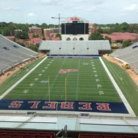 Photo taken at Vaught-Hemingway Stadium by Tripp W. on 6/26/2013