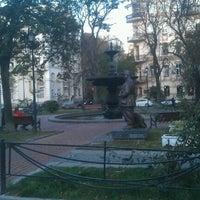 Снимок сделан в Площадь Ивана Франко пользователем Andrey P. 10/3/2012