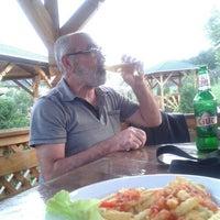 Photo taken at Restaurant Pestisorul de Aur by Sehmus C. on 9/4/2015