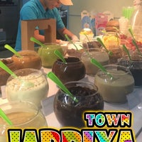 Photo taken at FroYo by Sara A. on 8/24/2017
