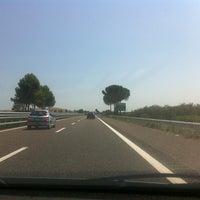 Photo taken at A14 - Cerignola Est by Rita T. on 8/17/2013