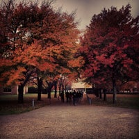 Photo taken at Bryant University by Eric M. on 10/23/2013
