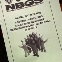 Photo taken at Dewan Sri Perdana KSKB SAS by Nurain S. on 4/6/2017