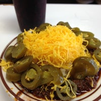 Photo taken at Real Chili by Richard S. on 10/16/2012