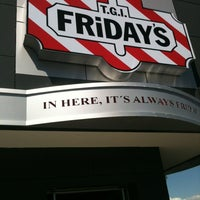 Photo taken at T.G.I. Friday's by Aurora B. on 10/7/2012