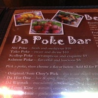 Photo taken at Da Kine Island Grill by Jack C. on 1/26/2013