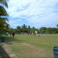 "Photo taken at Cayman Islands Rugby Club by Sergio ""MATADOR"" S. on 4/13/2014"