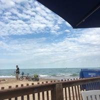 Photo taken at Oak Street Beach Food + Drink by Marla M. on 9/2/2017