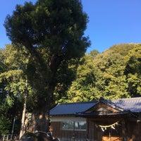 Photo taken at 八柱神社 by toyaman on 1/21/2017