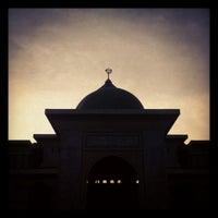 Photo taken at Masjid Agung An-Nur by Dian Sampurno K. on 7/28/2013
