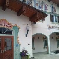 Photo taken at Leavenworth Festhalle by Galileo O. on 7/8/2013