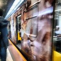 Photo taken at L1 Tren Ligero Estación Periférico Norte by Galileo O. on 8/21/2013
