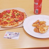Photo taken at Domino's Pizza by Samet Y. on 5/10/2017