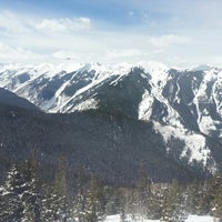 Photo taken at The Sundeck at Aspen Mountain by Michael C. on 3/26/2013