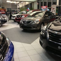 Photo taken at Paquet Nissan by Marie-eve L. on 1/15/2013