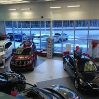 Photo taken at Paquet Nissan by Marie-eve L. on 1/28/2013