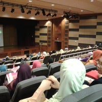 Photo taken at Auditorium Kompleks E by yka A. on 6/6/2013