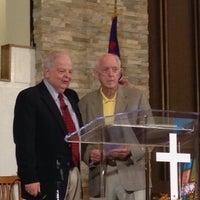 Photo taken at First Christian Church by Rafaelito F. on 9/21/2014