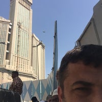 Photo taken at Zam Zam Tower Jam Besar by Abdullah Ç. on 2/22/2016