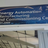Photo taken at Siemens I&C Energy Automation Manufacturing And Commissioning Center by Oscar S. on 3/21/2014