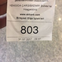 Photo taken at Akbank Yeni Gıda Çarşısı by Burak Y. on 7/31/2017