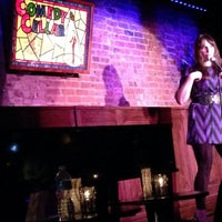 Photo taken at Comedy Cellar at The Village Underground by Aaron M. on 10/2/2013
