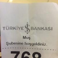 Photo taken at Türkiye İş Bankası by Emre A. on 10/20/2017