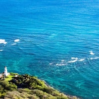 Photo taken at Diamond Head Lighthouse by Justin T. on 12/16/2016