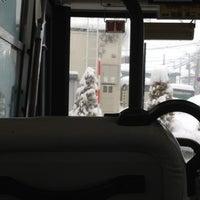 Photo taken at Higashikagura Bus Center by Leo O. on 12/16/2012