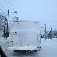 Photo taken at Higashikagura Bus Center by Leo O. on 1/5/2013