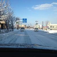 Photo taken at Higashikagura Bus Center by Leo O. on 11/27/2012