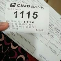 Photo taken at CIMB Bank by Khai Z. on 1/20/2016
