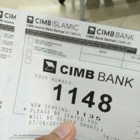 Photo taken at CIMB Bank by Khai Z. on 8/7/2015