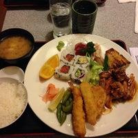 Photo taken at Gombei Japanese Restaurant by Riya S. on 2/23/2014