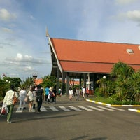 Photo taken at Siem Reap International Airport (REP) by Ryohei M. on 7/2/2013