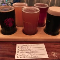 Photo taken at Barrier Brewing Co. by Andrew B. on 12/2/2016