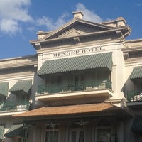 Photo taken at The Menger Hotel by Rhiannon E. on 10/22/2012