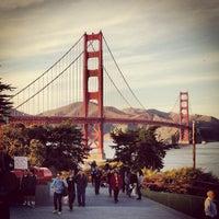 Foto scattata a Golden Gate Overlook da Gary S. il 1/20/2013