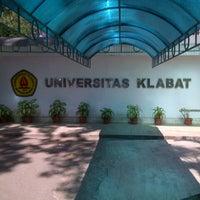 Photo taken at Universitas Klabat (UNKLAB) by Ellen F. on 10/2/2012