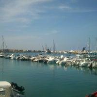 Photo taken at Porto di Otranto by Letizia on 4/26/2013