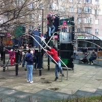 Photo taken at Детская площадка на Покровке by Ekaterina V. on 4/24/2016