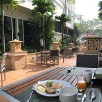 Photo taken at Tara Angkor Hotel Breakfast Lounge by evie on 10/16/2014