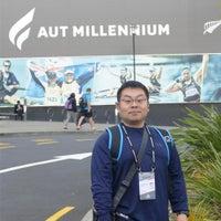 Photo taken at AUT Millenium Campus by Yasunobu H. on 5/11/2017