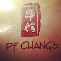 Photo taken at P.F. Chang's by Meredith W. on 9/15/2012