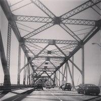 Photo taken at Bay Bridge Toll Plaza by Professor N. on 4/10/2013